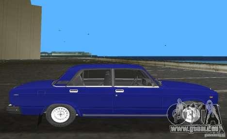 VAZ 2107 LADA Auto für GTA Vice City linke Ansicht