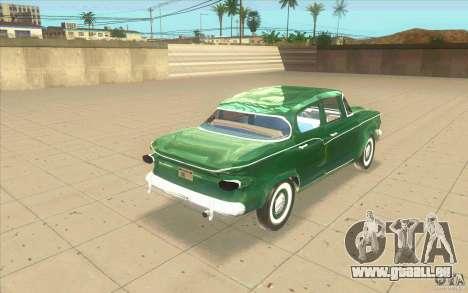 Studebaker Lark 1959 pour GTA San Andreas sur la vue arrière gauche