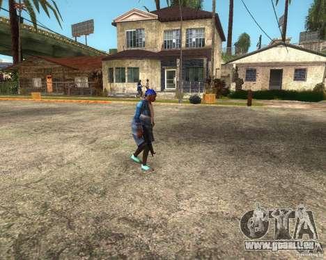 Gangsta Granny pour GTA San Andreas cinquième écran