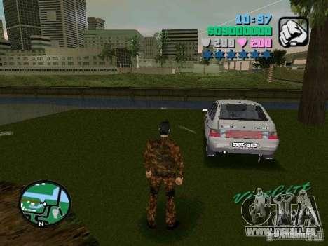 VAZ-2112 für GTA Vice City linke Ansicht