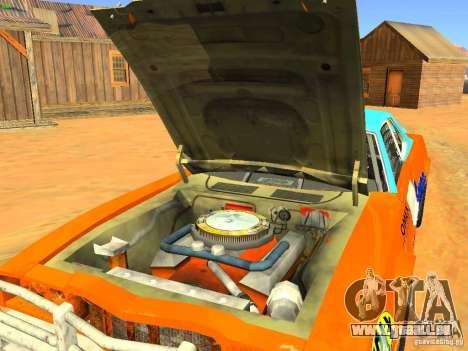 Jupiter Eagleray MK5 für GTA San Andreas Rückansicht