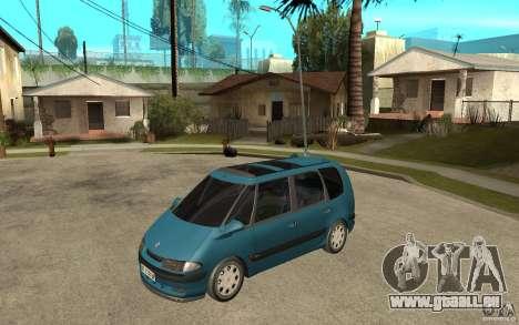 Renault Espace III 1999 pour GTA San Andreas