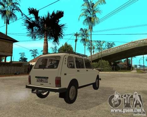 WAZ 2131 Niva für GTA San Andreas zurück linke Ansicht