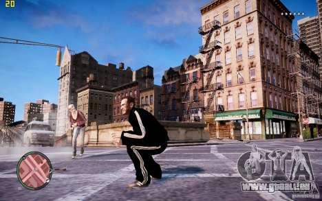 Costume de ADIDAS pour GTA 4 sixième écran