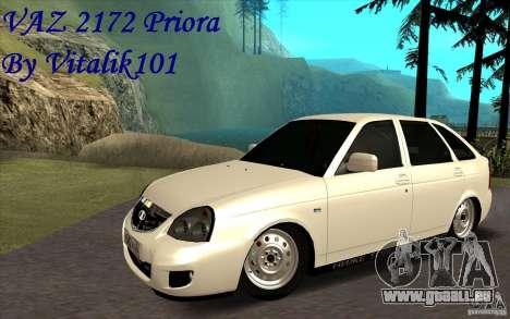 Lada Priora 2172 Schrägheck für GTA San Andreas