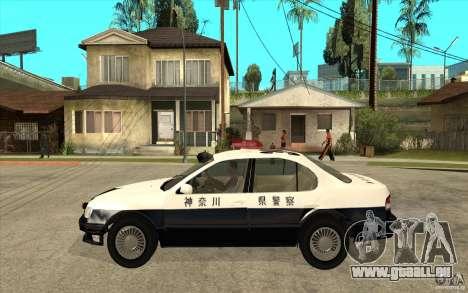 Nissan Cefiro A32 Kouki Japanese PoliceCar für GTA San Andreas Rückansicht