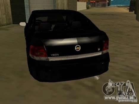 Chevrolet Vectra Elite 2.0 pour GTA San Andreas sur la vue arrière gauche