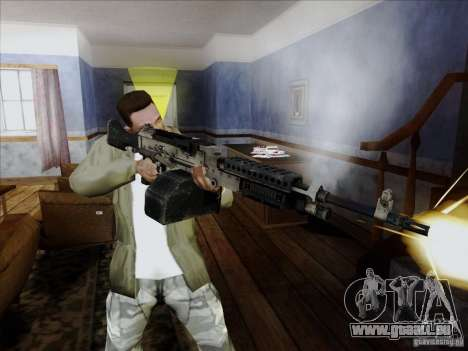 M240B für GTA San Andreas her Screenshot