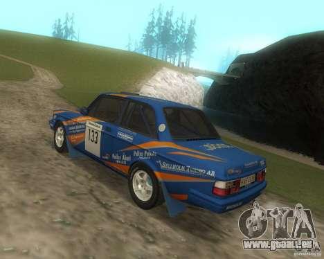 Volvo 242 Lightspeed Rally Edition für GTA San Andreas Rückansicht