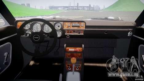 Nissan Skyline GC10 2000 GT v1.1 für GTA 4 Rückansicht