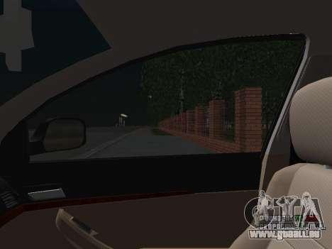 Toyota Avensis DPS pour GTA San Andreas vue de dessous