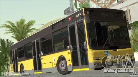 MAN Lion City pour GTA San Andreas sur la vue arrière gauche