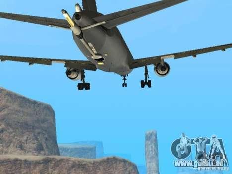 Boeing KC767 U.S Air Force pour GTA San Andreas vue intérieure