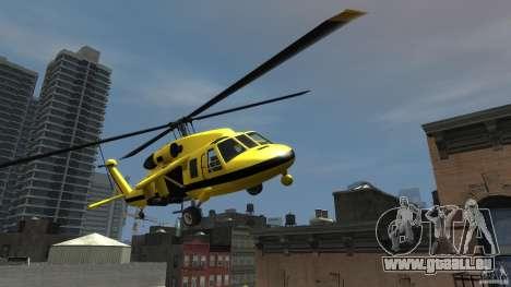 Yellow Annihilator pour GTA 4 Vue arrière