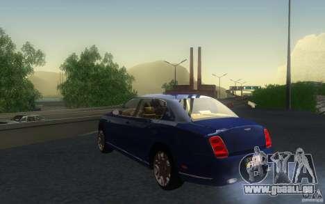 Bentley Continental Flying Spur für GTA San Andreas Innenansicht