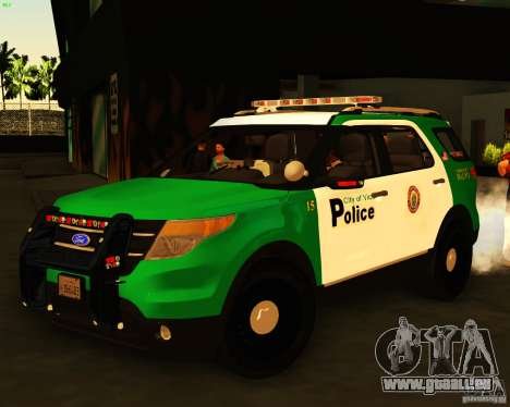 Ford Explorer 2011 VCPD Police für GTA San Andreas