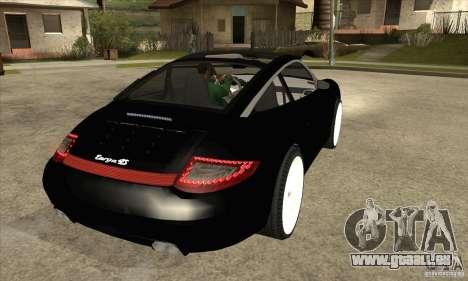 Porsche 911 Targa 4 pour GTA San Andreas vue de droite