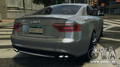 Audi S5 v1.0 für GTA 4 hinten links Ansicht