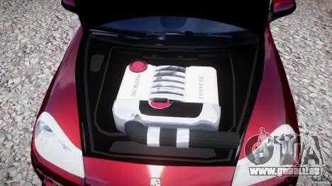 Porsche Cayenne Turbo S 2009 pour GTA 4 est une vue de l'intérieur