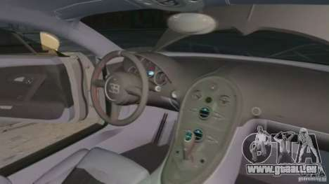 Bugatti Veyron 16.4 Super Sport pour GTA 4 vue de dessus
