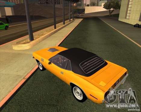 Plymouth Barracuda für GTA San Andreas linke Ansicht