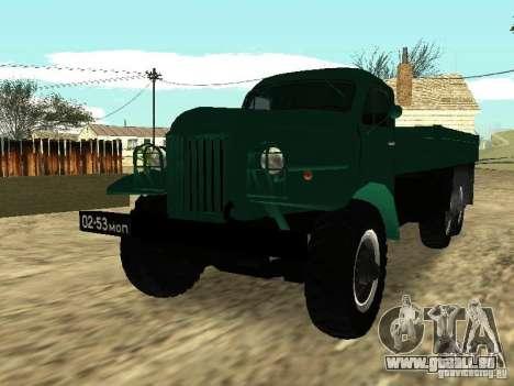 ZIL 157 für GTA San Andreas