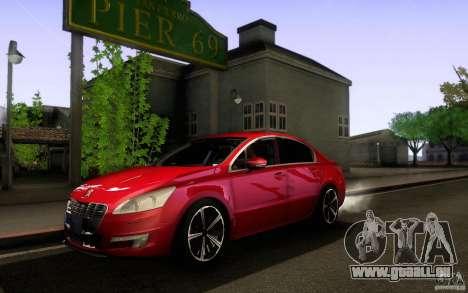 Peugeot 508 2011 pour GTA San Andreas