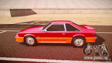Ford Mustang GT 1993 Rims 2 pour GTA 4 est une gauche