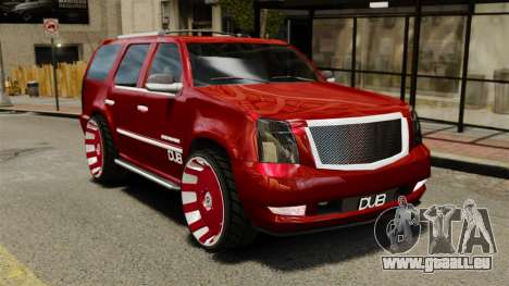 Cadillac Escalade 2011 DUB pour GTA 4