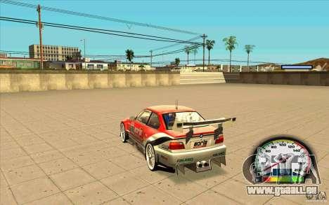 New Speedometer no transmissions für GTA San Andreas