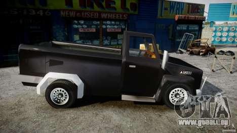 Desoto Ad250 4x4 pour GTA 4 Vue arrière