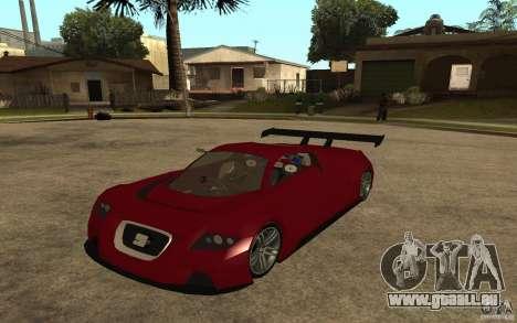Seat Cupra GT pour GTA San Andreas