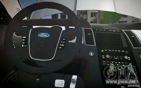 Ford Taurus SHO 2010 für GTA 4-Motor
