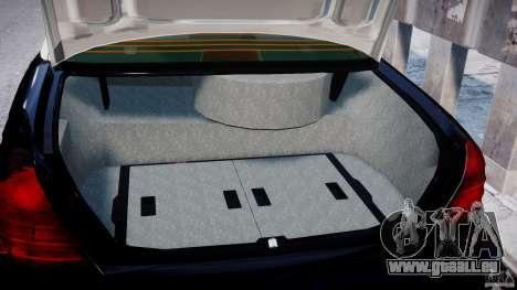 Ford Crown Victoria Massachusetts Police [ELS] pour GTA 4 est une vue de l'intérieur