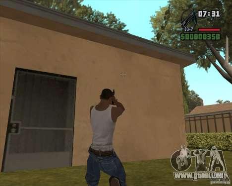 Black Chrome Eagle für GTA San Andreas zweiten Screenshot
