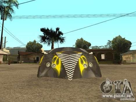 Thunderbold SlapJack für GTA San Andreas Innen