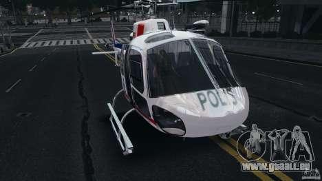 Eurocopter AS350 Ecureuil (Squirrel) Malaysia pour GTA 4 est une gauche