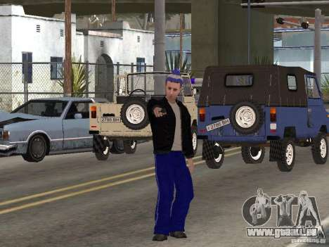 Skins Gopnik für GTA San Andreas fünften Screenshot