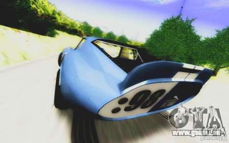 Shelby Cobra Daytona Coupe v 1.0 pour GTA San Andreas vue de droite