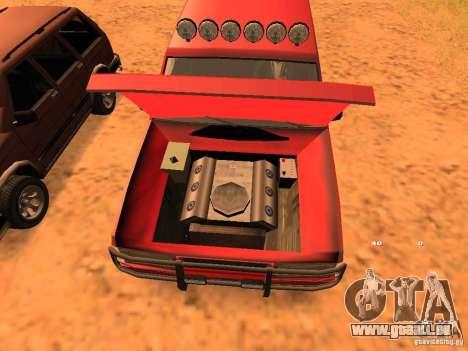 Huntley Superior für GTA San Andreas Seitenansicht