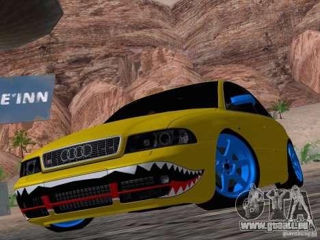 Audi S4 DatShark 2000 pour GTA San Andreas vue de côté