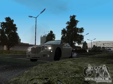 Chrysler 300C HEMI 5.7 2009 pour GTA San Andreas vue arrière