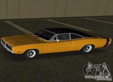 Dodge Charger RT 1969 pour une vue GTA Vice City de la gauche