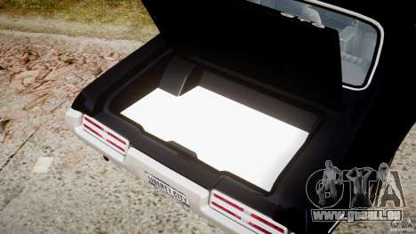 Pontiac GTO Judge pour GTA 4 est un côté