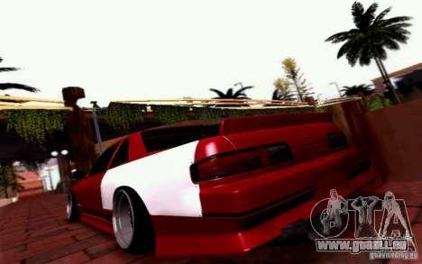 Nissan S13 Onevia pour GTA San Andreas laissé vue