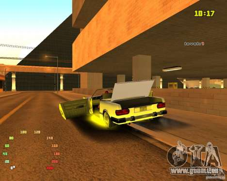 Extreme Car Mod SA:MP version pour GTA San Andreas cinquième écran