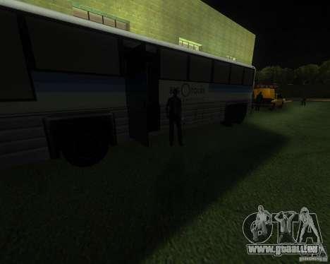 Une gare animée à San Fierro pour GTA San Andreas deuxième écran