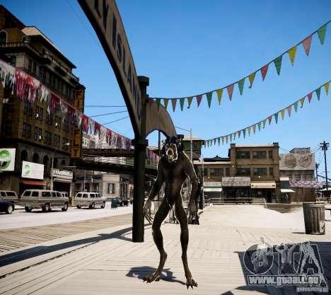 Werewolf from Skyrim pour GTA 4 secondes d'écran