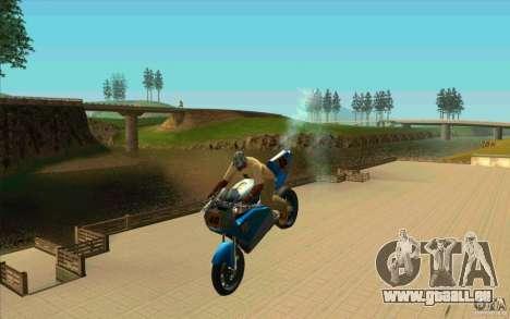 Astuces inédites sur la NRG-500 pour GTA San Andreas quatrième écran