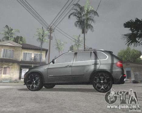 BMW X5 2009 Tune pour GTA San Andreas laissé vue